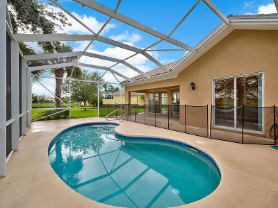 Port Saint Lucie Single Family Home For Sale: 12112 SW Keating Drive