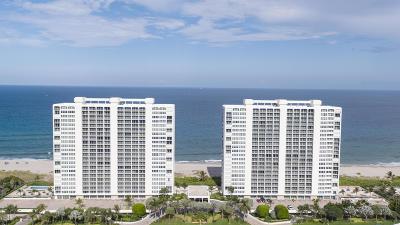Ocean Towers, Ocean Towers Condominium, Ocean Towers South Condo Apts Condo For Sale: 2800 S Ocean Boulevard #11-A