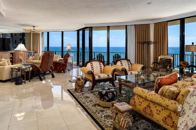 Juno Beach Condo For Sale: 570 Ocean Drive #902