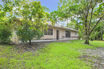 West Palm Beach Single Family Home For Sale: 5627 120th Avenue