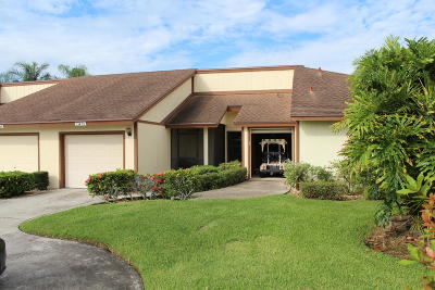 Palm Beach Gardens Single Family Home Contingent: 13455 Crosspointe Drive