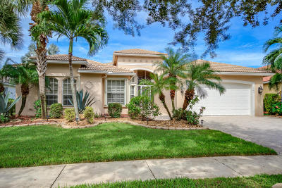 Lake Worth Single Family Home For Sale: 7943 Merano Reef Lane