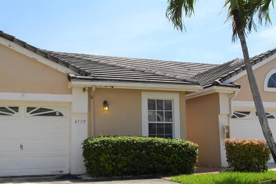Coral Springs Single Family Home For Sale: 8779 Forest Hills Boulevard #40