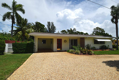 Stuart Single Family Home For Sale: 835 SE Krueger Parkway