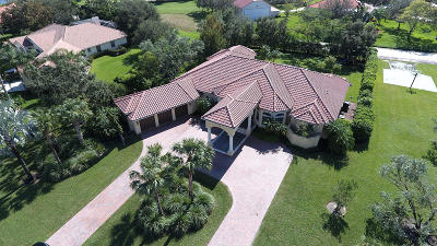 Palm Beach County Single Family Home For Sale: 15450 Hawker Lane