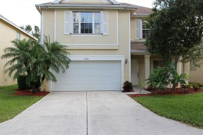 Palm City Single Family Home Contingent: 3153 SW Solitaire Palm Drive
