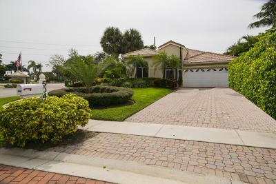 Delray Beach Single Family Home For Sale: 5042 Monterey Lane