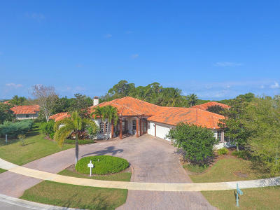 Hobe Sound Single Family Home For Sale: 10063 SE Osprey Pointe Drive