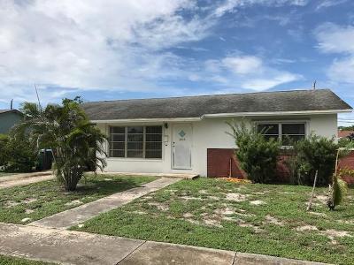 Boynton Beach Single Family Home Contingent: 315 NE 23rd Avenue
