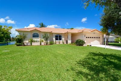 Lake Worth Single Family Home For Sale: 7731 Ardwick Drive