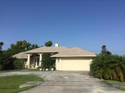 Port Saint Lucie Single Family Home For Sale: 2502 SE Lakewood Street