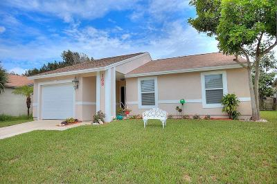 Jupiter Single Family Home For Sale: 168 Greentree Circle