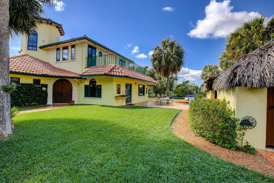 Palm Beach County Single Family Home For Sale: 99 NE Spanish Trail