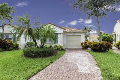 Delray Beach Single Family Home Contingent: 15363 Lake Wildflower Road