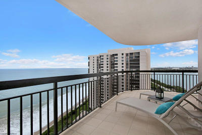 Singer Island Condo For Sale: 5380 Ocean Drive #19h