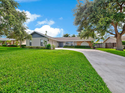 Palm Beach Gardens Single Family Home Contingent: 11910 Banyan Street