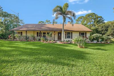 Jupiter Single Family Home For Sale: 13674 151st Lane