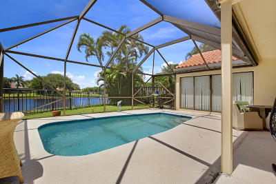 Palm Beach Gardens Single Family Home Contingent: 13290 Saint Tropez Circle