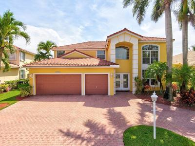 Boca Raton Single Family Home For Sale: 12750 Yardley Drive