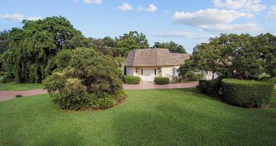 Boynton Beach Single Family Home For Sale: 4937 S Lake Drive