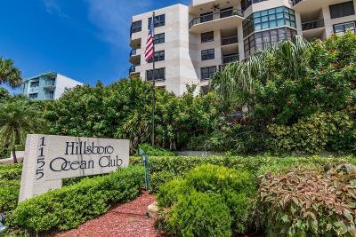 Broward County Rental For Rent: 1155 Hillsboro Mile #610