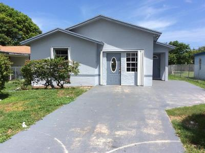 Delray Beach Single Family Home For Sale: 631 SW 5th Avenue