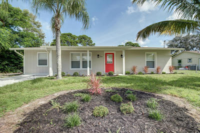Port Saint Lucie Single Family Home For Sale: 257 SW Todd Avenue