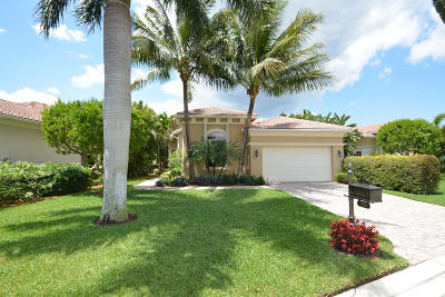 Palm Beach Gardens Single Family Home For Sale: 115 Andalusia Way
