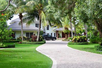 Jupiter Single Family Home For Sale: 308 W Riverside Drive