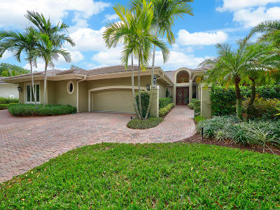 Jupiter Single Family Home For Sale: 317 Regatta Drive
