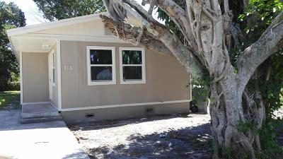 Delray Beach Single Family Home For Sale: 715 SW 5 Avenue