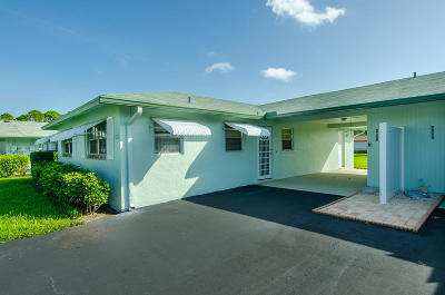 Delray Beach Single Family Home For Sale: 441 Bluebird Lane