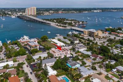 Palm Beach Shores Townhouse For Sale: 1101 Beach Road #C