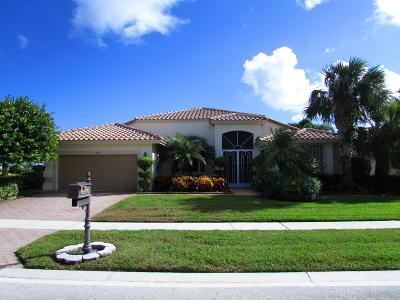 Boynton Beach Single Family Home For Sale: 6816 W Liseron