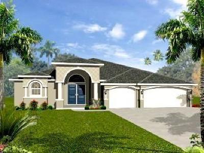 Port Saint Lucie Single Family Home For Sale: 105 SE Via Verona