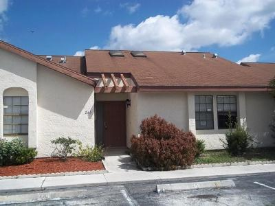 Port Saint Lucie Single Family Home For Sale: 265 SW Sterret Circle