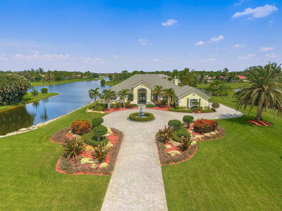 West Palm Beach Single Family Home For Sale: 7856 Woodsmuir Drive