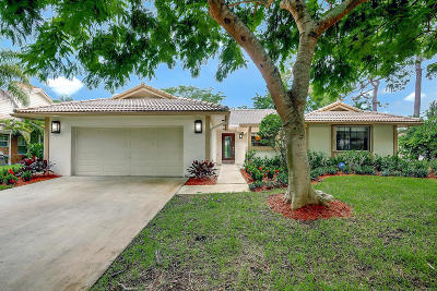 Boca Raton Single Family Home For Sale: 3414 Pine Haven Circle