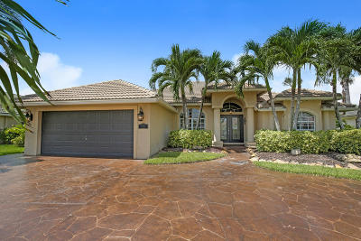 Royal Palm Beach Single Family Home Contingent: 159 Fernwood Crescent