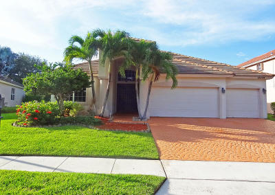 Boca Raton Single Family Home For Sale: 12379 Cascades Pointe Drive