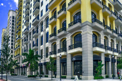 West Palm Beach Condo For Sale: 701 S Olive Avenue #1021