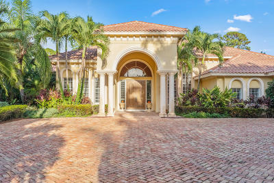 West Palm Beach Single Family Home For Sale: 1872 Flagler Estates Drive