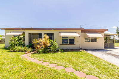 Palm Springs Single Family Home Contingent: 3170 Meadow Road