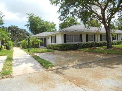 Boynton Beach Single Family Home For Sale: 10142 S 45th Trail #452