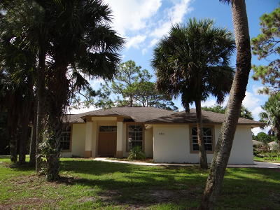 Acerage, Acreage, Acreage & Unrec, Acreage& Unrec, Acreage&unrec, Acreage, Loxahatchee, Acreage/Royal Ascott, Areage, Loxahatchee, Loxahatchee/Acreage, Royal Ascot Estates, Royal Palm Beach Acreage, The Acreage, The Acreage/Loxaha, Acarage Single Family Home For Sale: 16856 88th Road