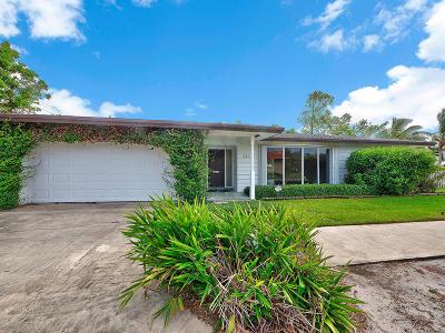 Lake Worth Single Family Home For Sale: 242 Pennsylvania Drive