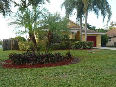 Jupiter Single Family Home For Sale: 6357 Drake Street
