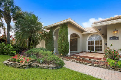 Royal Palm Beach Single Family Home For Sale: 125 Fernwood Crescent