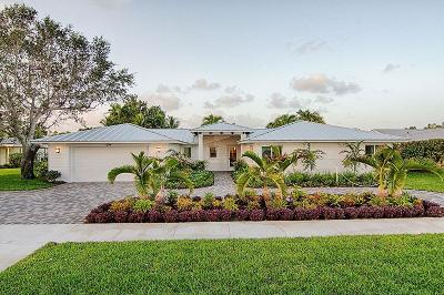 North Palm Beach Single Family Home For Sale: 604 Lighthouse Drive