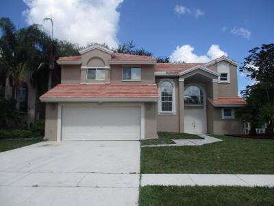 Boca Raton Single Family Home For Sale: 10291 Sunstream Lane